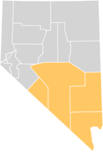 Map of Southern Nevada